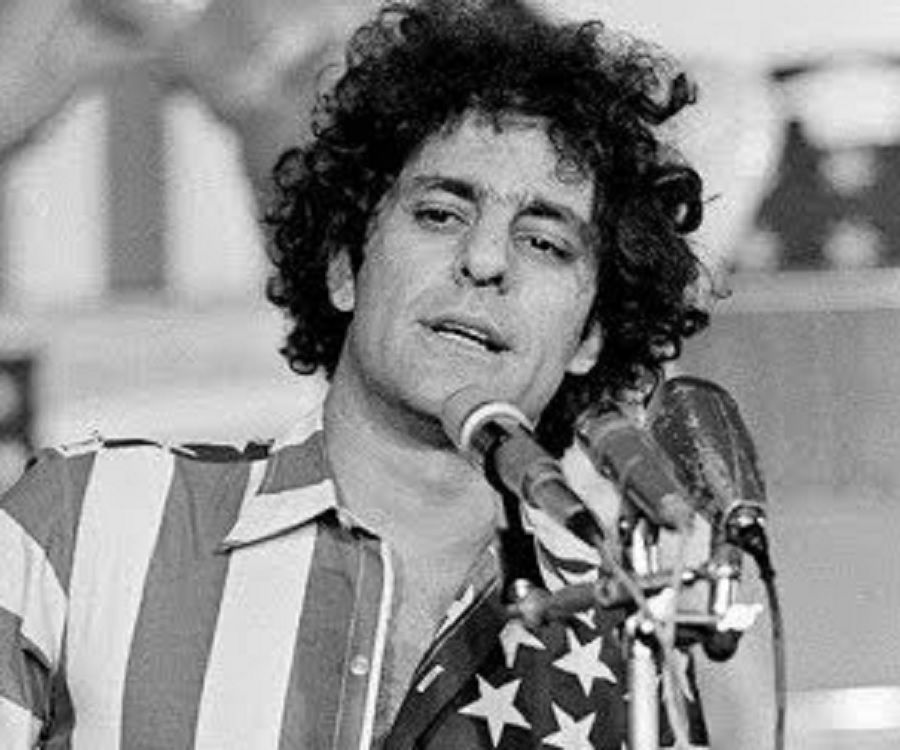 a biography of abbie hoffman an instigator and supporter of many famous events in the sixties