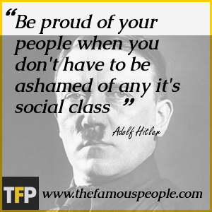 Be proud of your people when you don