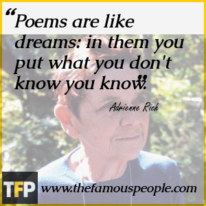 adrienne rich Essay Examples