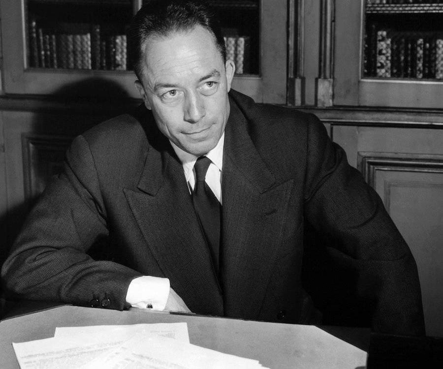 a biography of albert camus an author Join us in commemorating the 70th anniversary of albert camus' one and   present elizabeth hawes, author of the recent biography camus,.