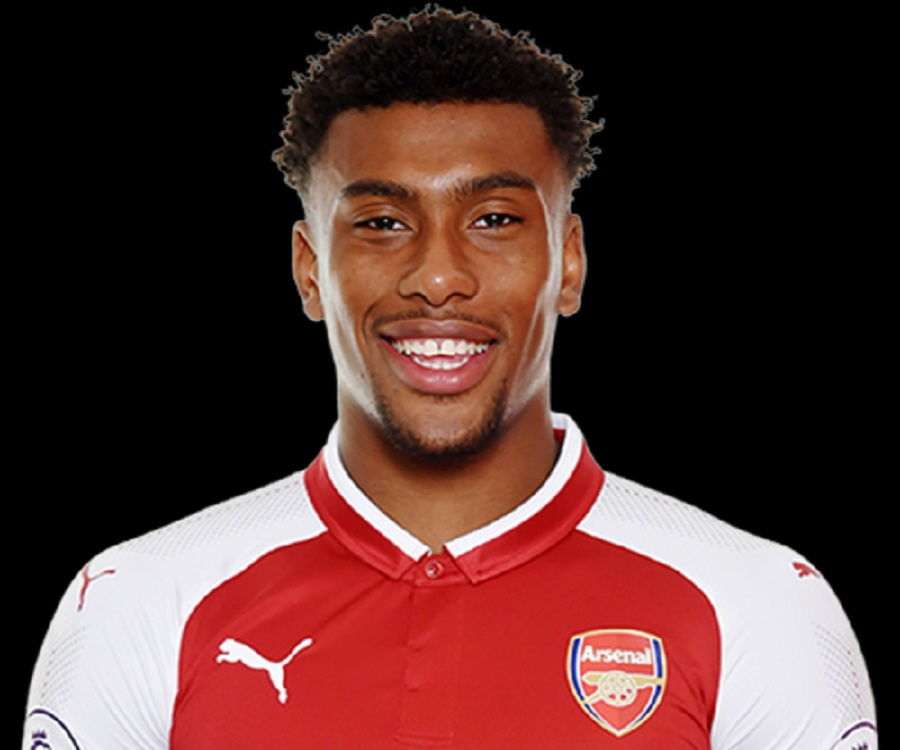 Alex Iwobi Arsenal Home Jersey