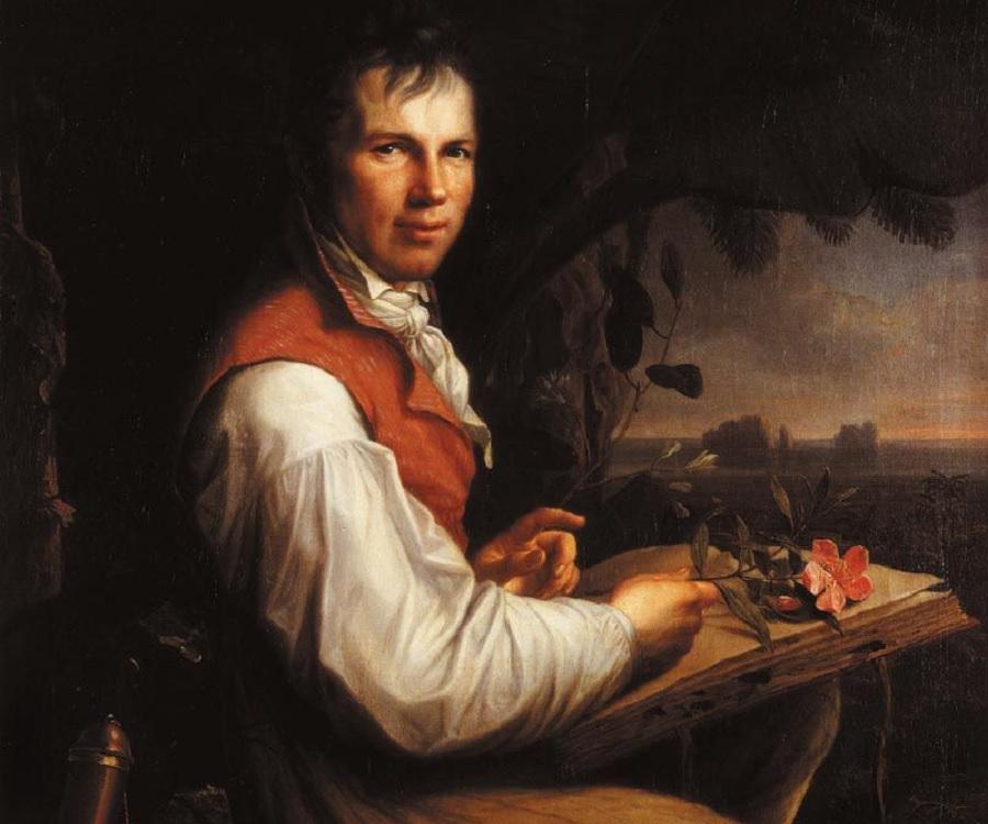 Alexander Von Humboldt...