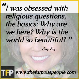 Vampire Anne Rice Quote