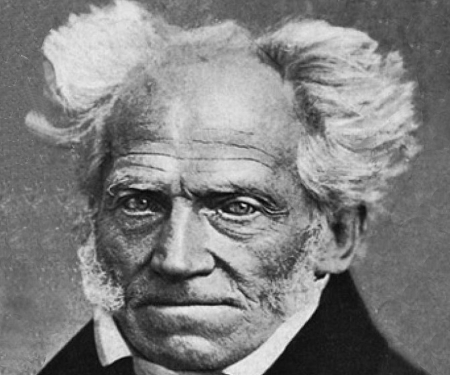 What is the original German source of the following Arthur Schopenhauer quote?
