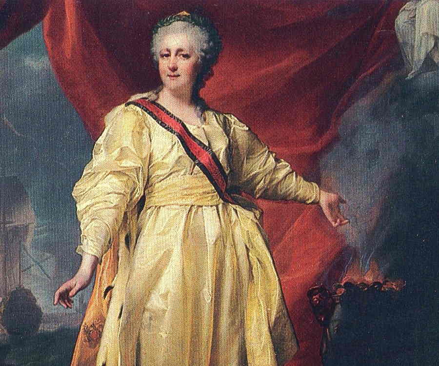 a biography of catherine the great