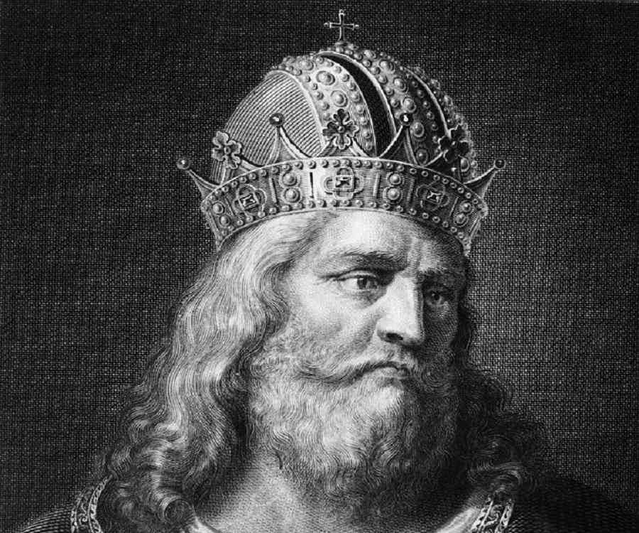 a biography of charlemagne or charles the great the king of franks
