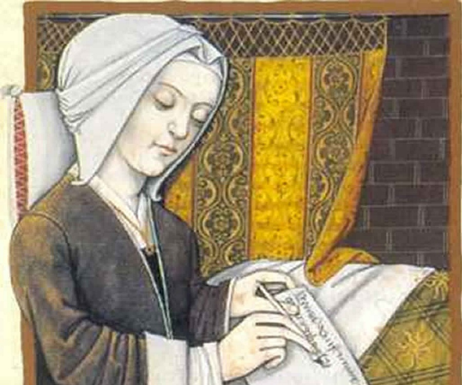 life of christine de pisan Christine de pizan, one of the earliest known women authors, wrote the livre de   the livre de paix in historical context, provide a brief biography of pizan, and.