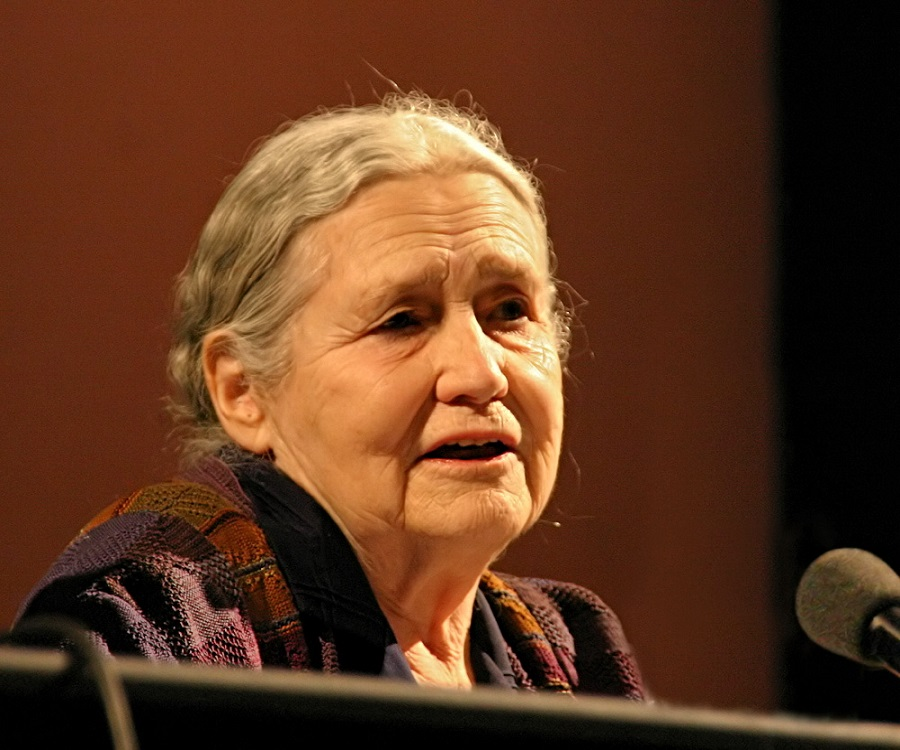 doris lessing essays The grass is singing and the house of the spirits are two famous novels, written by the british author doris lessing and chilean author isabel.