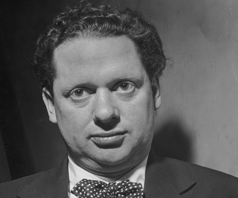 Image result for poet dylan thomas dies