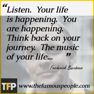 Listen to Your Life Frederick Buechner