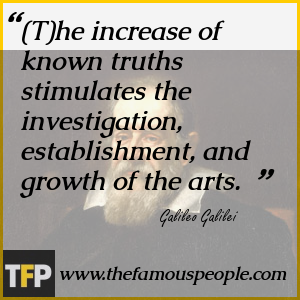 The life and philosophies of galileo