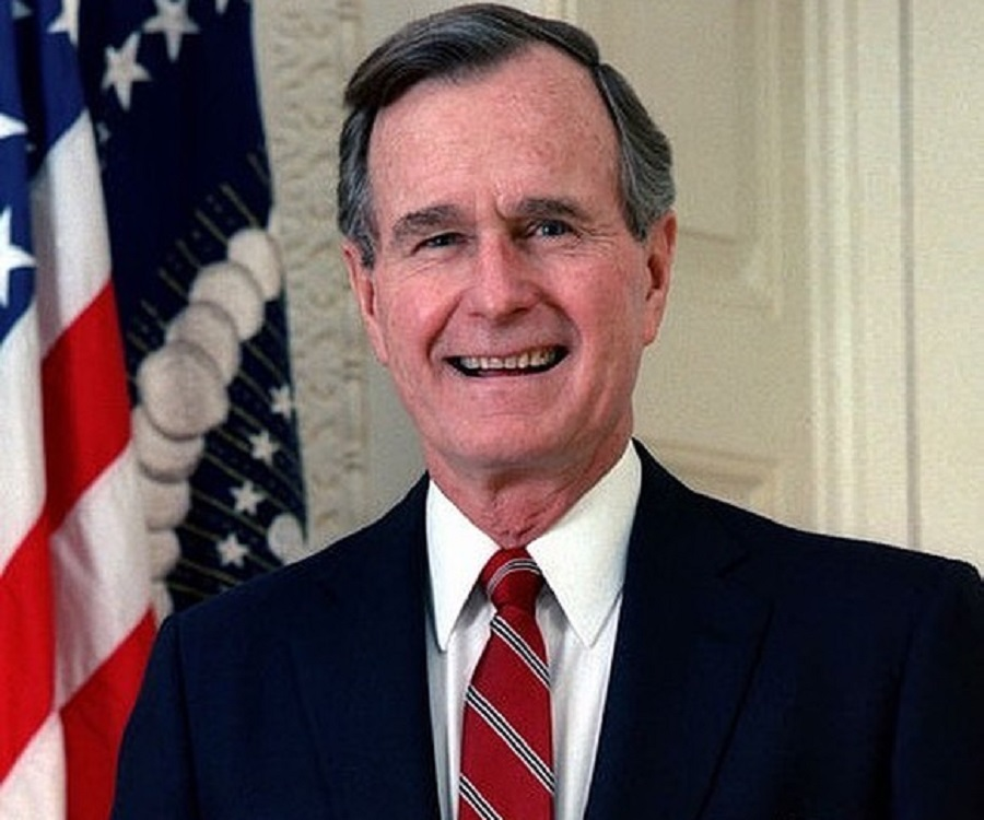 george herbert walker bush Former president george herbert walker bush is the only person ever to have  served as vice president of the united states for eight years.