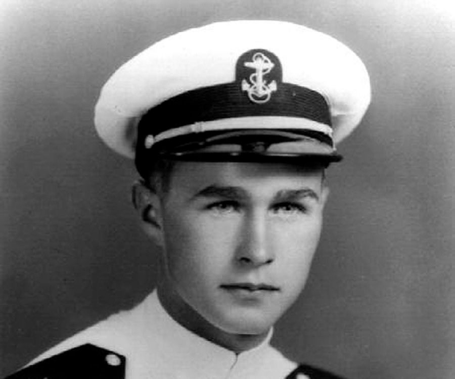 Image result for pictures of george hw bush as a navy officer