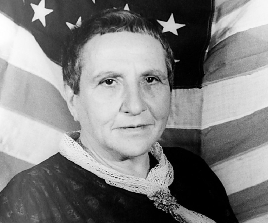 a biography of gertrude stein Born in 1876, in allegheny, pennsylvania, gertrude was the fifth child, and youngest, to daniel and amelia stein, german-jewish immigrants she was a bright.