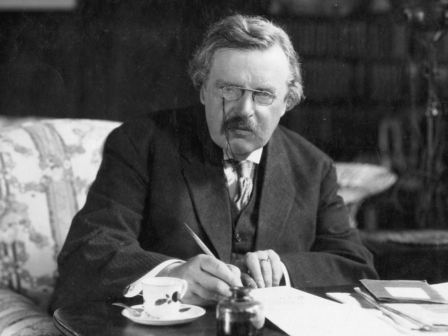 """gilbert keith chesterton Author:gilbert keith chesterton from wikisource  """"chesterton, gilbert keith,"""" in a short biographical dictionary of english literature,."""