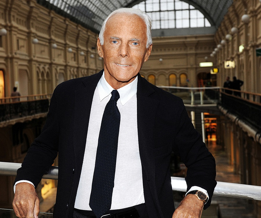 Giorgio Armani Biography - Childhood, Life Achievements ... Giorgio Armani