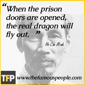When the prison doors are opened, the real dragon will fly out.