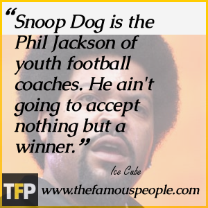 Snoop Dog is the Phil Jackson of youth football coaches. He ain