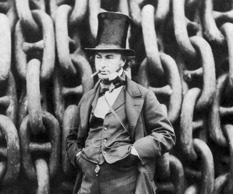 a history of isambard kingdom brunel Take this horrific account concerning isambard kingdom brunel's  mr brunel,  the celebrated engineer, had several narrow escapes with his.
