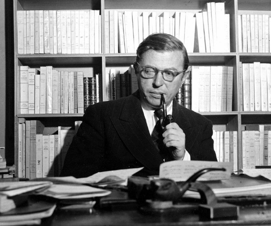 an analysis of the existentialism by jean paul sartre Check out this summary and analysis of jean paul sartre's classic story, the wall from 1939, set in spain.
