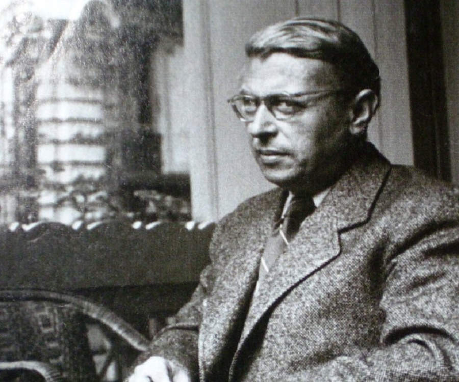 a critique of jean paul sartres philosophy on existence In his 1946 essay existentialism, jean-paul sartre and the solitude of human existence existentialism existentialism is not its own philosophy but.