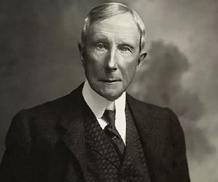 the life and acclaims of john davison rockefeller