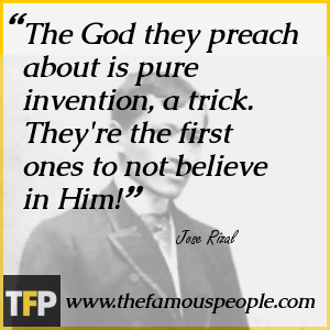 The God they preach about is pure invention, a trick. They