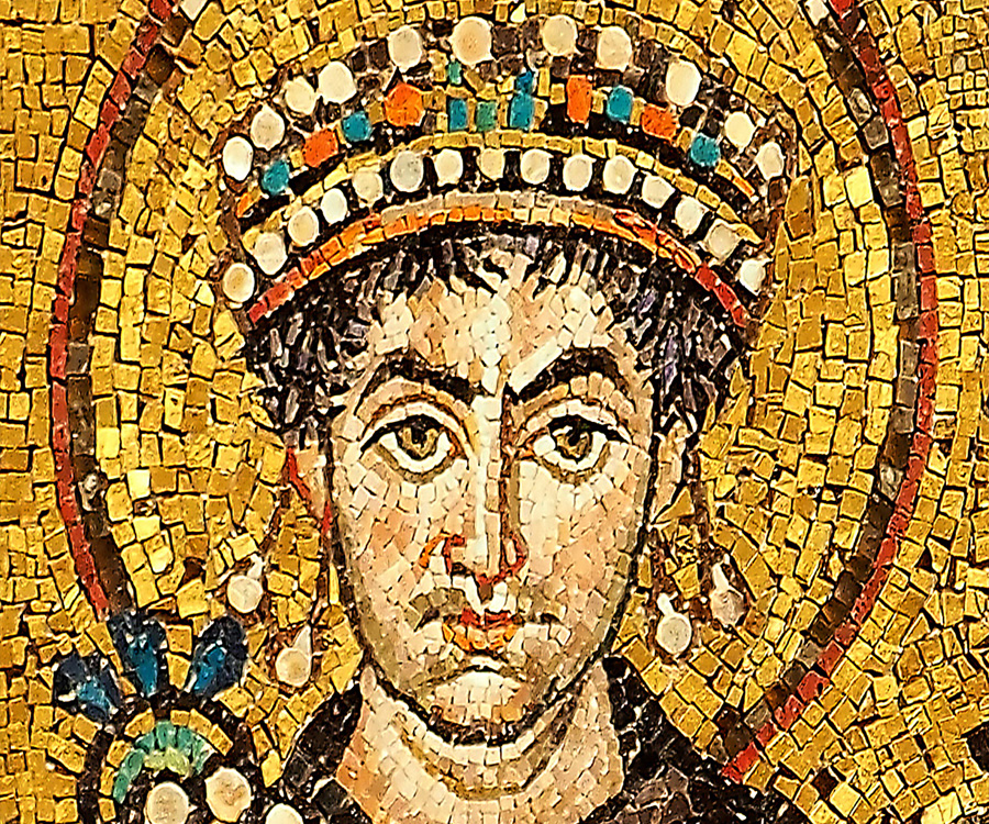 History of the reign of emperor justinian and the reign of emperor charlemagne