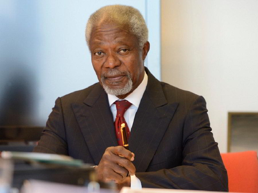 biography of kofi annan Kofi atta annan (born april 8, 1938) is a ghanaian diplomat who served as the seventh secretary-general of the united nations from january 1 1997 to january 1 2007, serving two five-year terms annan was the co-recipient of the nobel peace prize in 2001.
