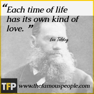 Each time of life has its own kind of love.