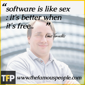 Biography Of Linus Torvalds