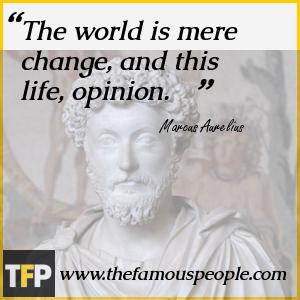 Marcus Aurelius Famous Quotes