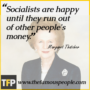 Socialists are happy until they run out of other people