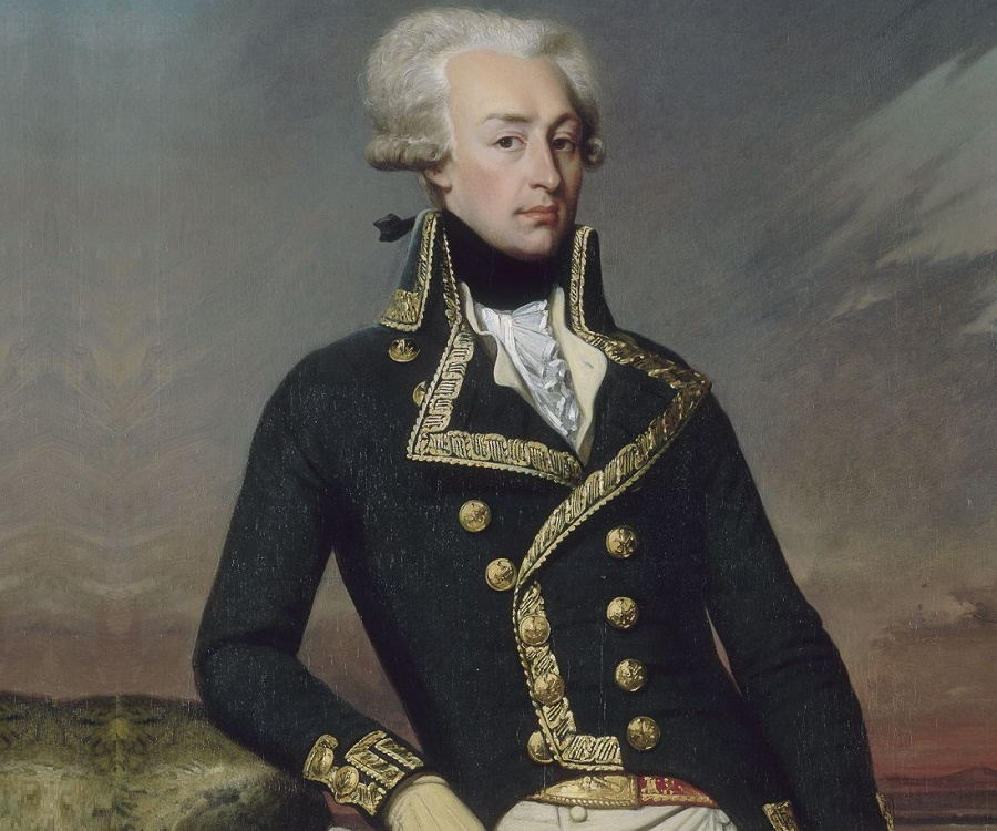 Portait of the marquis de lafayette as seen in american public house review