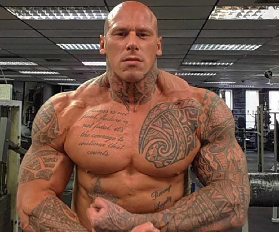 Martyn Ford – Bio, Facts, Family Life of British Actor & Bodybuilder