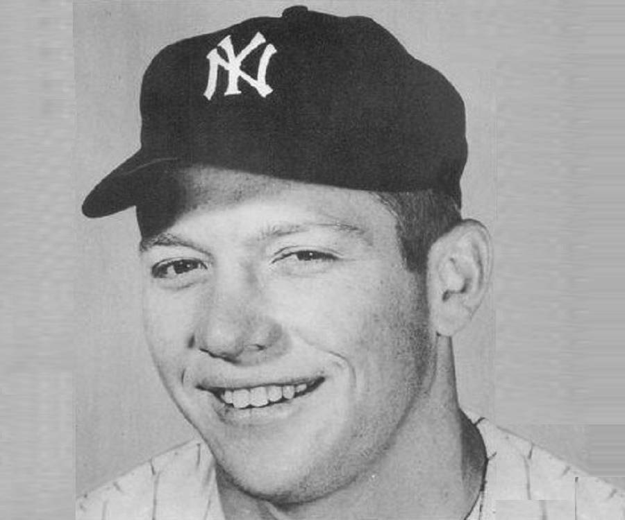 Mickey mantle bio