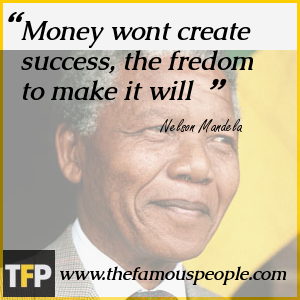 Money wont create success, the fredom to make it will