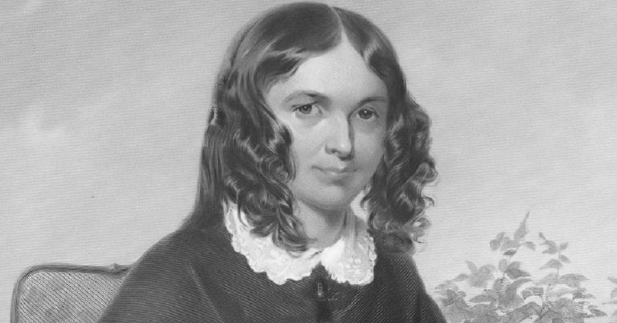 a biography of elizabeth barrett Elizabeth barrett browning, born 208 years ago today, was once so famous that  her dog, flush, was given a biography of his own by virginia.