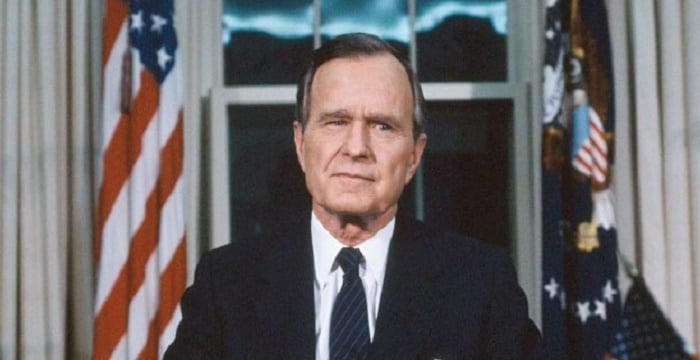 George H W Bush Biography Childhood Life Achievements