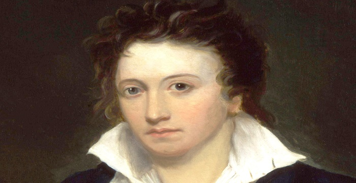 Percy Bysshe Shelley Biography - Magazine cover