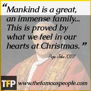 the life of pope john xxiii Angelo roncalli was born in sotto il monte, italy on november 25, 1881 the  fourth in a family of fourteen, his family worked as sharecroppers, a striking  contrast.