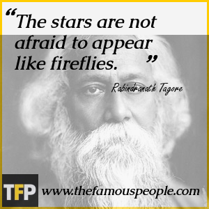 The stars are not afraid to appear like fireflies.