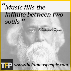 Music fills the infinite between two souls