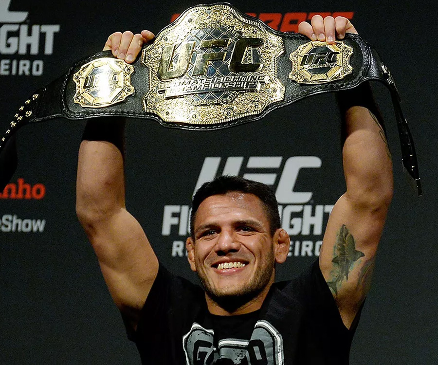 Image result for Tyron Woodley vs. Rafael dos Anjos