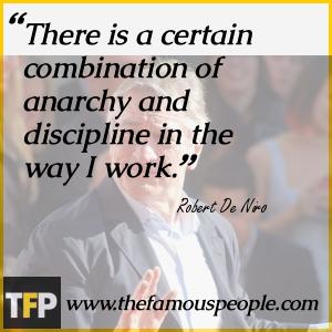 Robert De Niro Famous Quotes