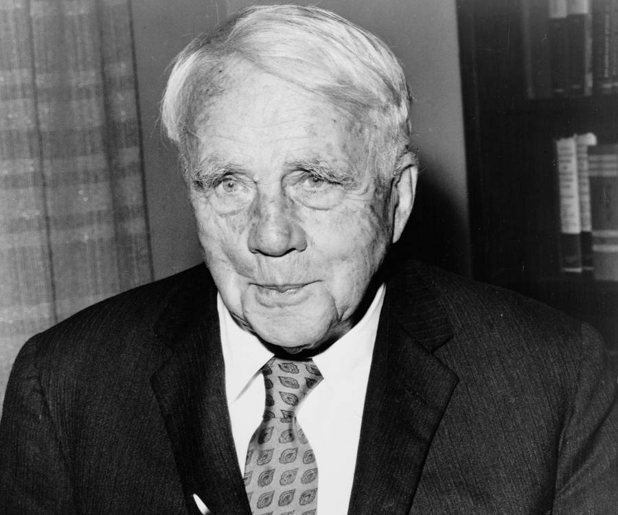 the early life and works of robert frost Robert frost successfully taken reader's imagination on a journey through the wintertime with his poems desert places and stopping by woods on a snowy evening frost's new england background in these two poems reflect the beautiful scenery that is present in our part of the country even though these poems both.