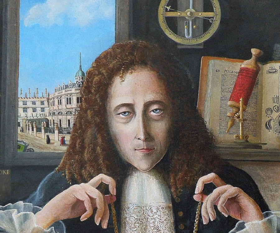 why is robert hooke famous