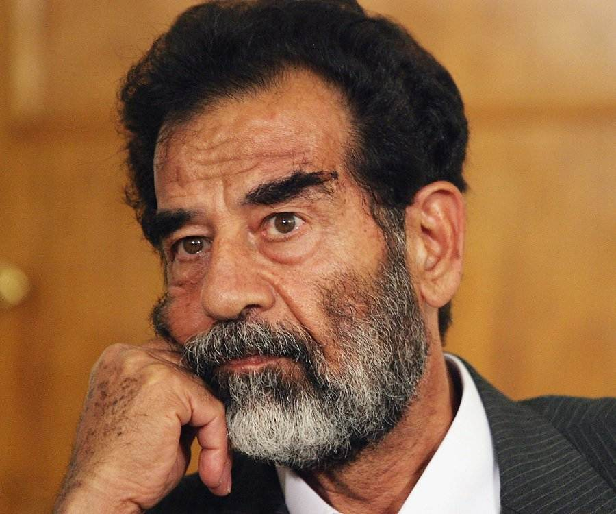 a short biography of saddam hussein Saddam's government collapsed as a result of the 2003 invasion of iraq by an international coalition led by the united states, and he was captured by american forces on december 13, 2003 on november 5, 2006, he was convicted of crimes against humanity by the iraq special tribunal and was sentenced to death by hanging[6.