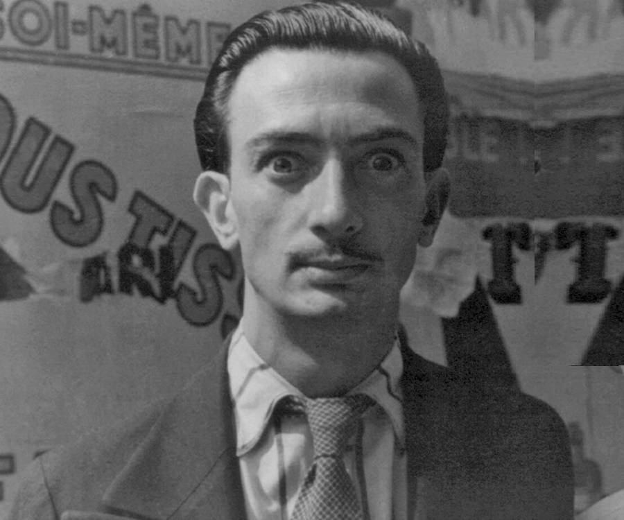 Salvador dali biography childhood life achievements for Syndrome miroir
