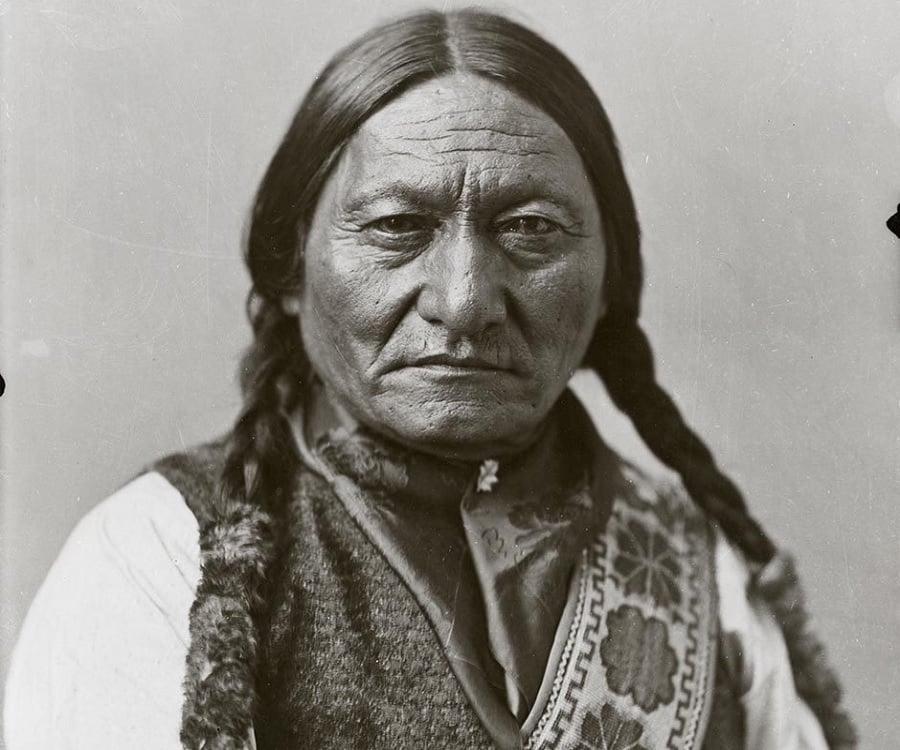 sitting bull indianer
